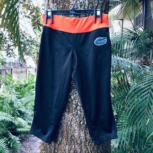 Florida Gators University Capri Leggings UF Black